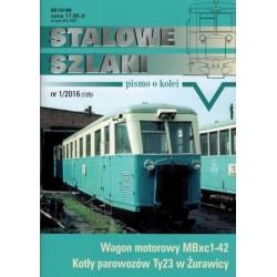 """stsz1601 """"Stalowe Szlaki"""" numer 1/2016 (125)"""