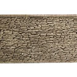 NOCH 58064, Mur z kamienia naturalnego, 33 x 12,5 cm, skala H0.