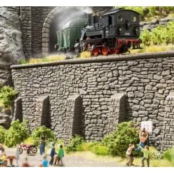 NOCH 58066, Mur oporowy kamienny, 33 x 12,5 cm, H0
