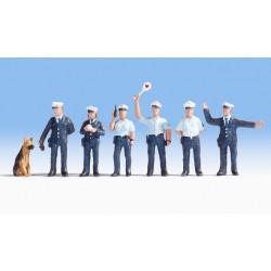 NOCH 15091, Policjanci z psem, (D) skala H0