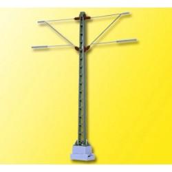 Viessmann 4112, Maszt sieci trakcyjnej, obustronny, 99 mm. H0