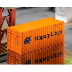 Faller 180826, 20' kontener »Hapag-Lloyd«, skala H0