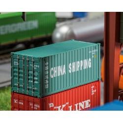 Faller 180828, 20' kontener »China Shipping«, skala H0.