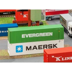 Faller 180846, 40' Hi-Cube kontener »Evergreen«, skala H0