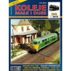 KMiD34 Koleje Małe i Duże, nr 34 (1/2016 sierpień)