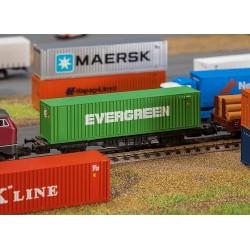 Faller 272843, 40`kontener »EVERGREEN«, skala N 1:160