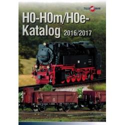 th017, Katalog TILLIG H0 - H0m - H0e, 2016 / 2017