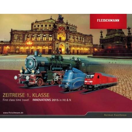 FIN15, Katalog Fleischmann Innovations 2015, H0 / N