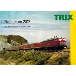 TX12, Katalog TRIX neuheiten 2012