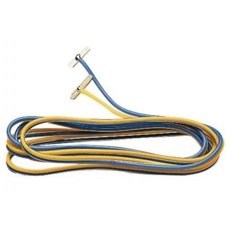Fleischmann Roco 22217, Przewody zasilające ze spinkami, skala N / H0e