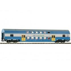 PIKO 97059, Wagon piętrowy kl.2, PKP PR, skala H0