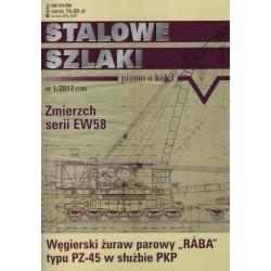 """stsz1701 """"Stalowe Szlaki"""" numer 1/2017 (129)"""