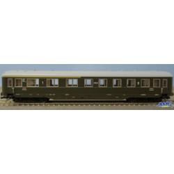 Tillig 501655, Wagon osobowy 1/2 kl. PKP ep.IIIc, skala TT