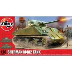 Airfix 01303, Sherman M4A2, skala 1:76