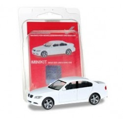 Herpa 012874, BMW 3 Limousine E90, skala H0, biały