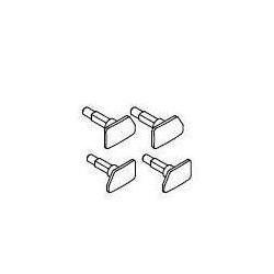 Piko 53000-203, Bufory (komplet, 4 szt) do wagonów 120A PKP, H0