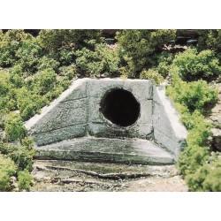 Woodland Scenics WC1262, Betonowe przepusty rurowe, skala H0