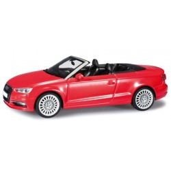 HERPA 070805, Audi A3® Cabrio, brilliant red, skala 1:43