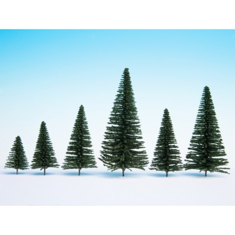 Noch 26930, Zestaw drzew (10 szt.) 5-14 cm.