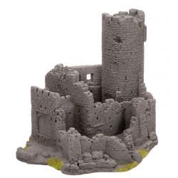 NOCH 58605, Ruiny zamku, 20 x 16 x16 cm., skala H0