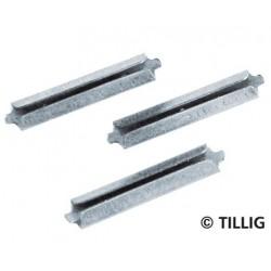Tillig 86102, Złączki do torów H0 / Elite / TT, 25 szt.