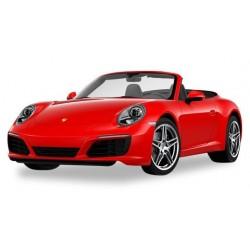 Herpa 028844, Porsche 911 Carrera 2 Cabrio, indian red, H0