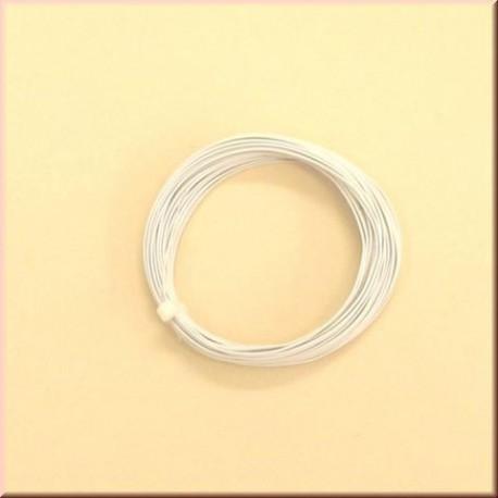 58804 Przewód biały - 1 m