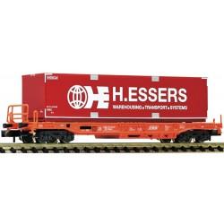Fleischmann 845363, Wagon platforma z kontenerem, skala N