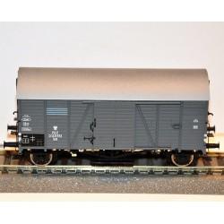 BRAWA 47943, wagon towarowy kryty Kdt PKP, ep.III, skala H0