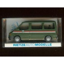 Rietze 50862, Ford Transit Policie Militaire, skala H0