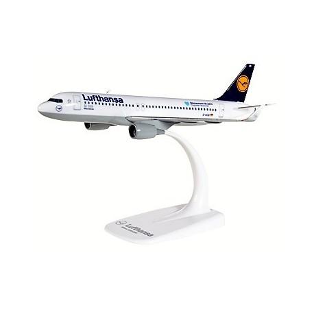 Herpa 611718, Lufthansa Airbus A320 Munich Airport 25 Years, D-AIUQ, 1:200
