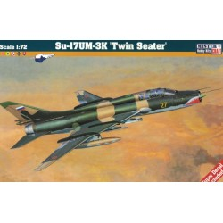 "MisterCraft D-18, Su-17UM-3K ""Twin Seater"", skala 1:72"