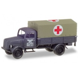 "Herpa 746052, Mercedes-Benz medical service truck ""DR"", skala H0"