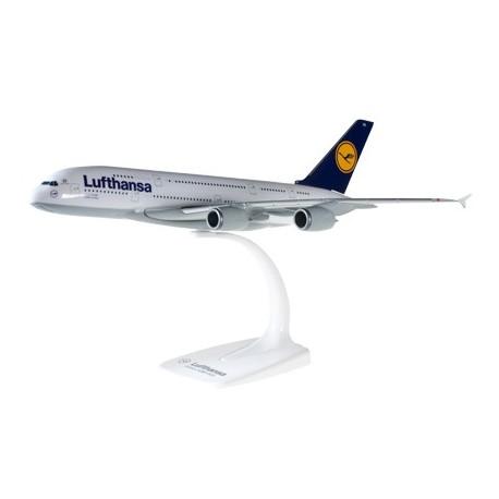 Herpa 607032 -001, Lufthansa Airbus A380-800, 1:250