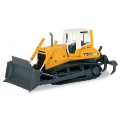 Herpa 151689, Liebherr bulldozer PR 734 Litronic, skala H0.