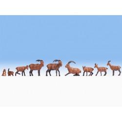 Noch 15742, Zwierzęta alpejskie, skala H0