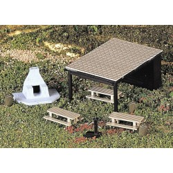 Bachmann 42213, Zestaw piknikowy, skala H0