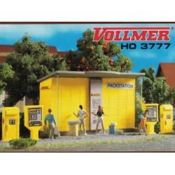 Vollmer 43777, Paczkomat DHL, automaty i skrzynki pocztowe, skala H0
