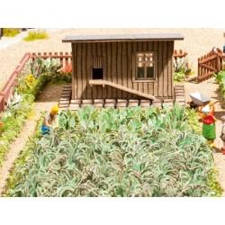 NOCH 14107, Ogród warzywny, zestaw roślinności, skala H0