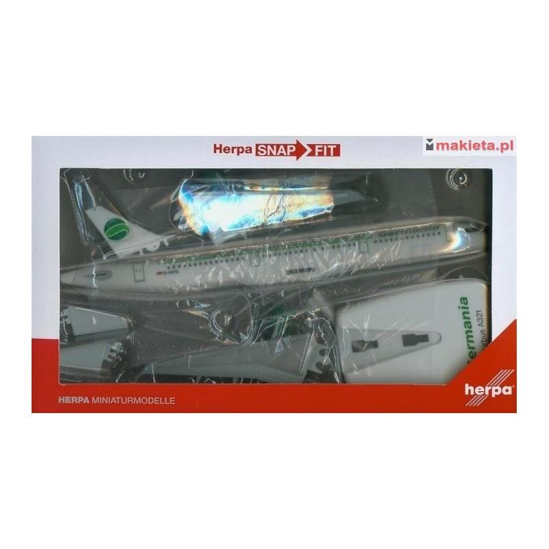 D-ASTE Herpa 611879 Germania Airbus A321