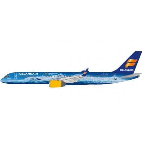 "Herpa 611848, Icelandair Boeing 757-200 ""80 Years of Aviation"" - TF-FIR ""Vatnajökull"", 1:200"