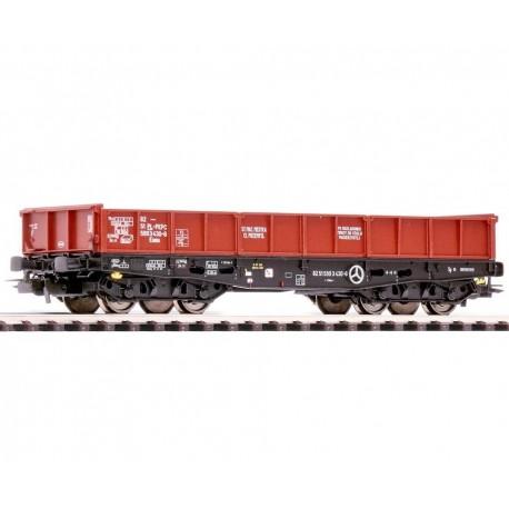 PIKO 58411, Wagon niskoburtowy 401Zl, PKP, ep.V, skala H0