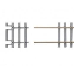 "Piko 55151-1, Końcówka torów ""betonowych"" Flex H0 A-Gleis, 1 szt.,skala H0"