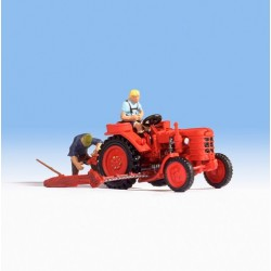 "Noch 16756, Traktor ""Fahr"" plus dwie postaci, skala H0"