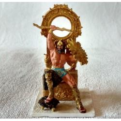 """FD-04761, Zeus - Mythos. Figurka: metal, kolor, kolekcja """"Mitologia"""" DeAgostini, model gotowy."""