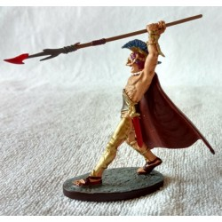 """FD-0 4764, Odyseusz. Figurka: metal, kolor, kolekcja """"Mitologia"""" DeAgostini, model gotowy."""