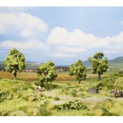 NOCH 21001, Cztery drzewa owocowe, ~7,5 cm (H0/TT)