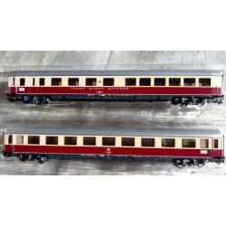 ! KOMIS !, Zestaw: dwa wagony TEE DB, skala H0 (KS2247) TRIX