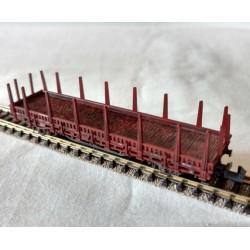 ! KOMIS !, Wagon platforma z kłonicami, skala N (KS2252)
