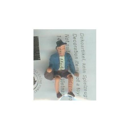 """NOCH 116-021, osoba siedząca, """"Doktor"""", figurka, skala H0"""
